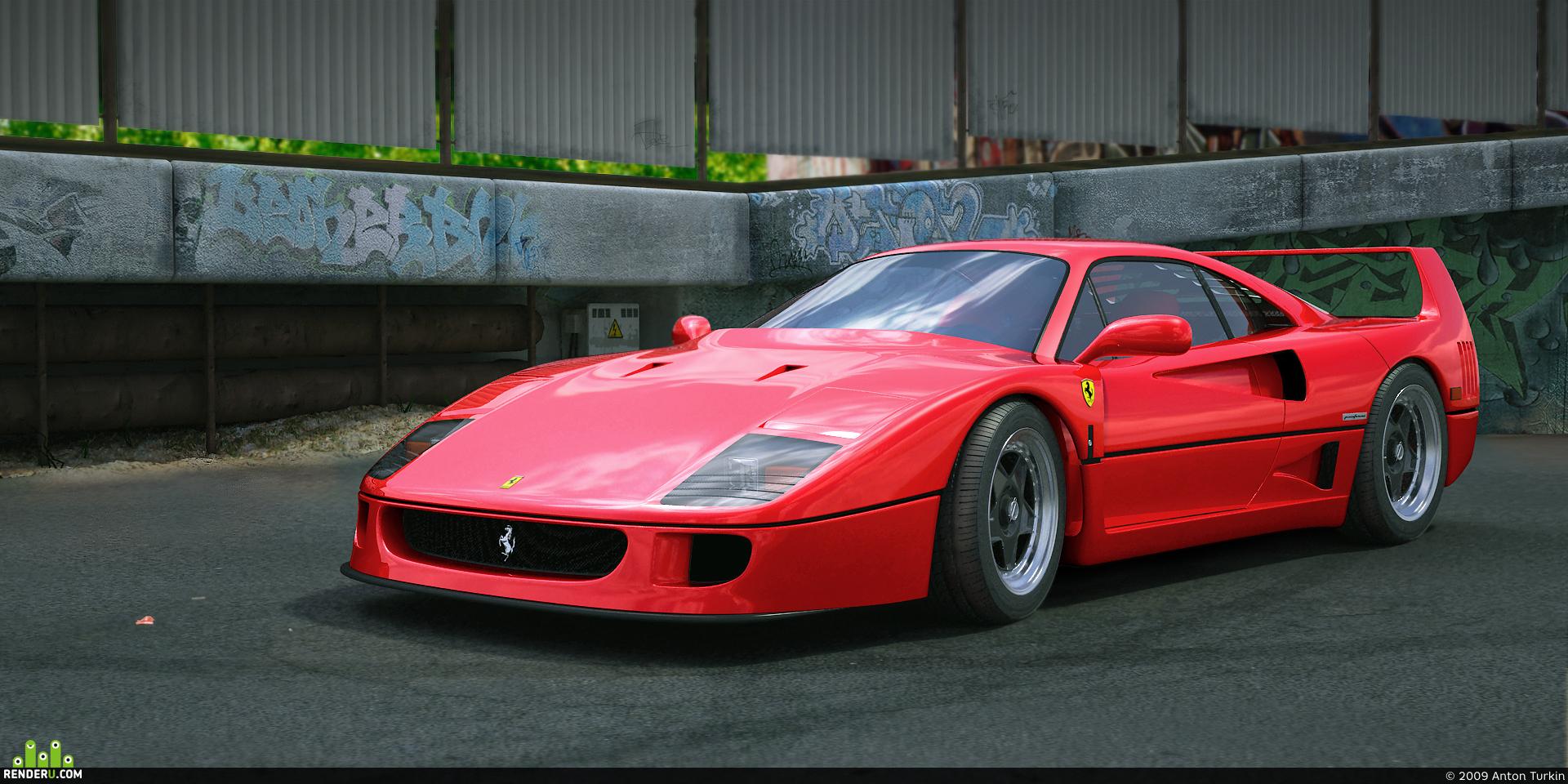 preview Ferrari F40