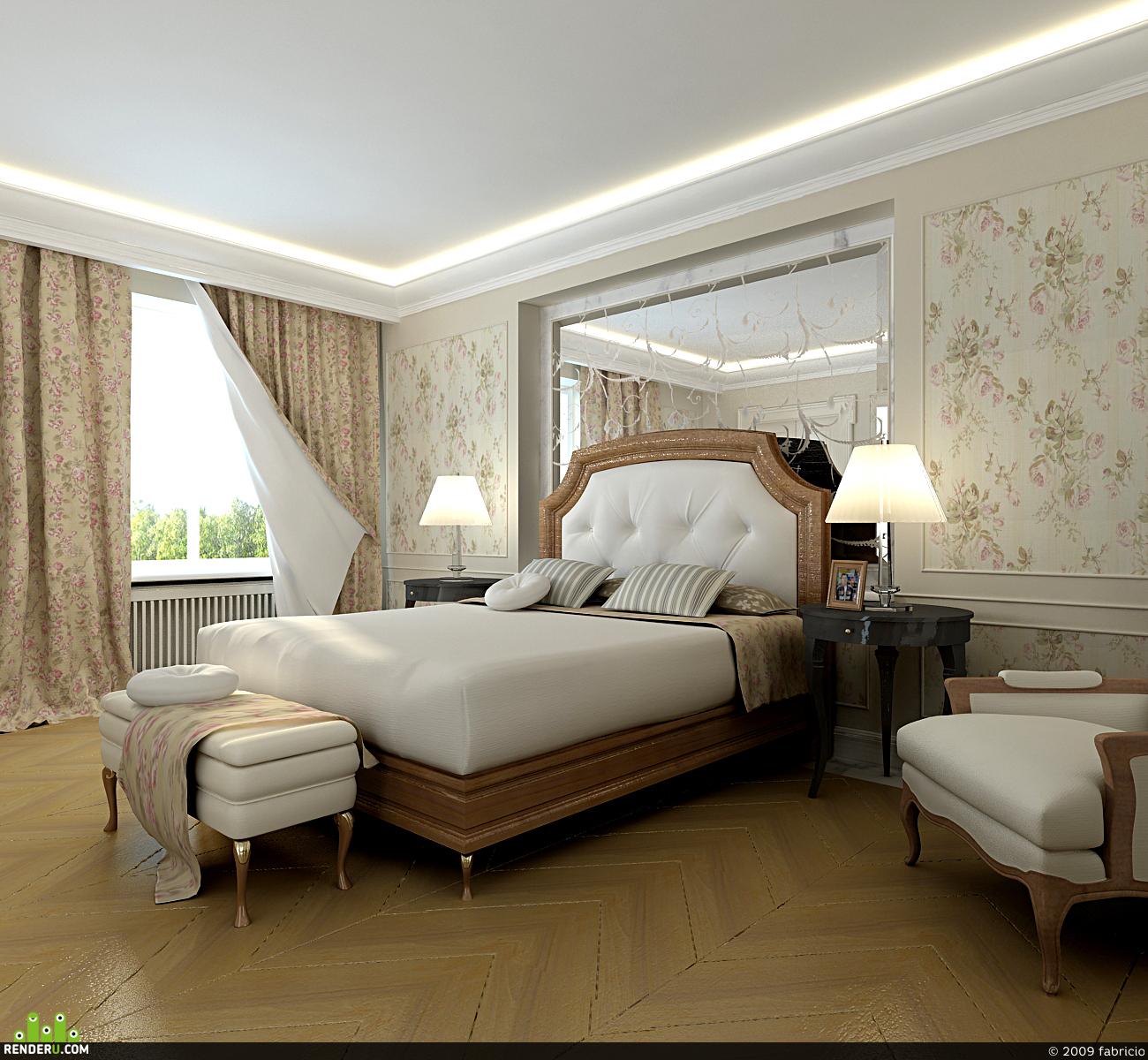 preview Спальня классика