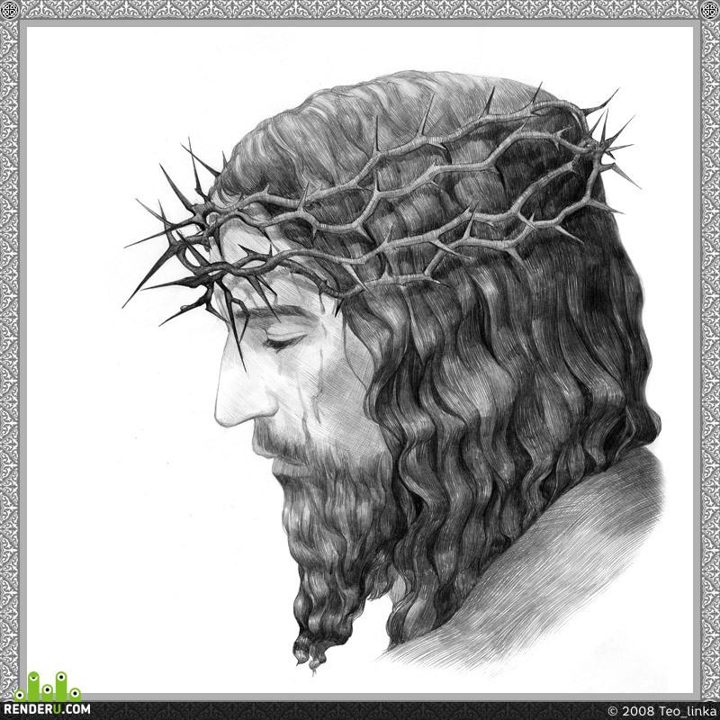 preview Jesus Christ portrait