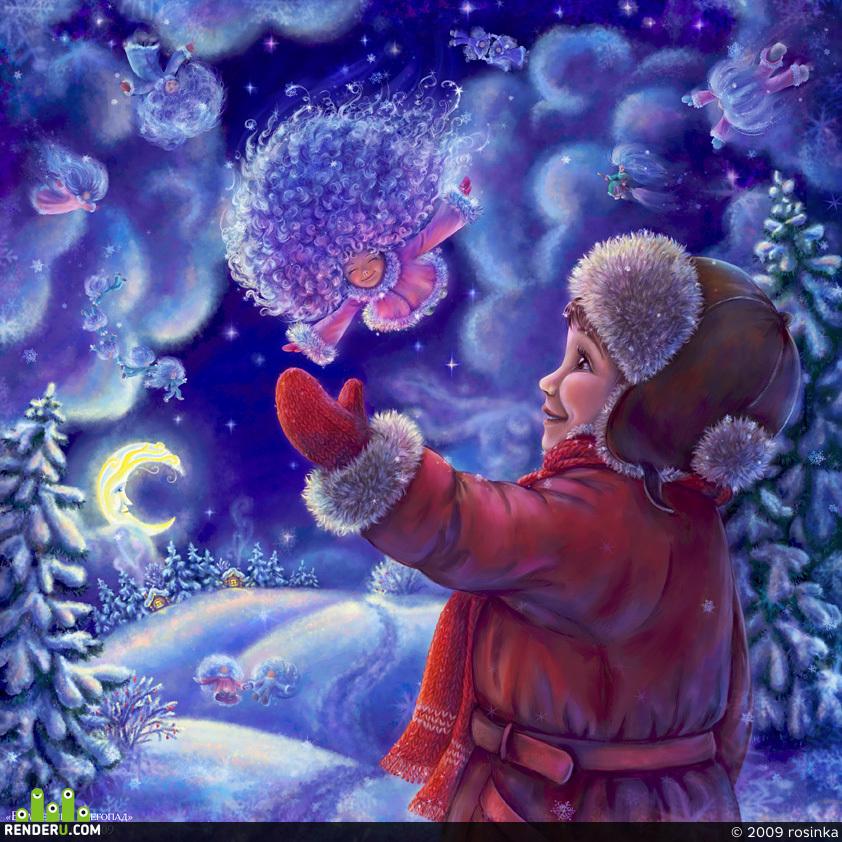 preview Volshebnyiy snegopad
