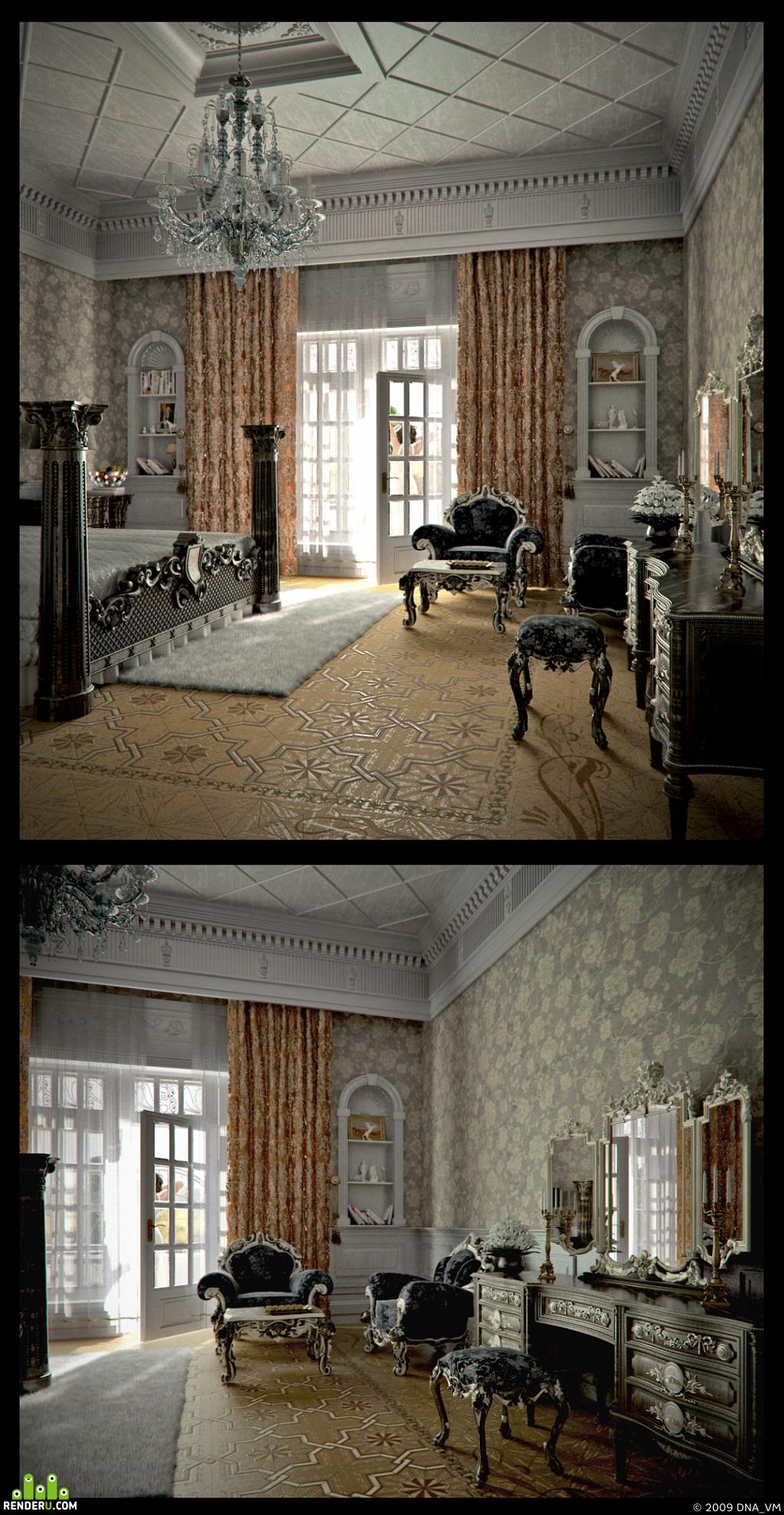 preview Классическая спальня