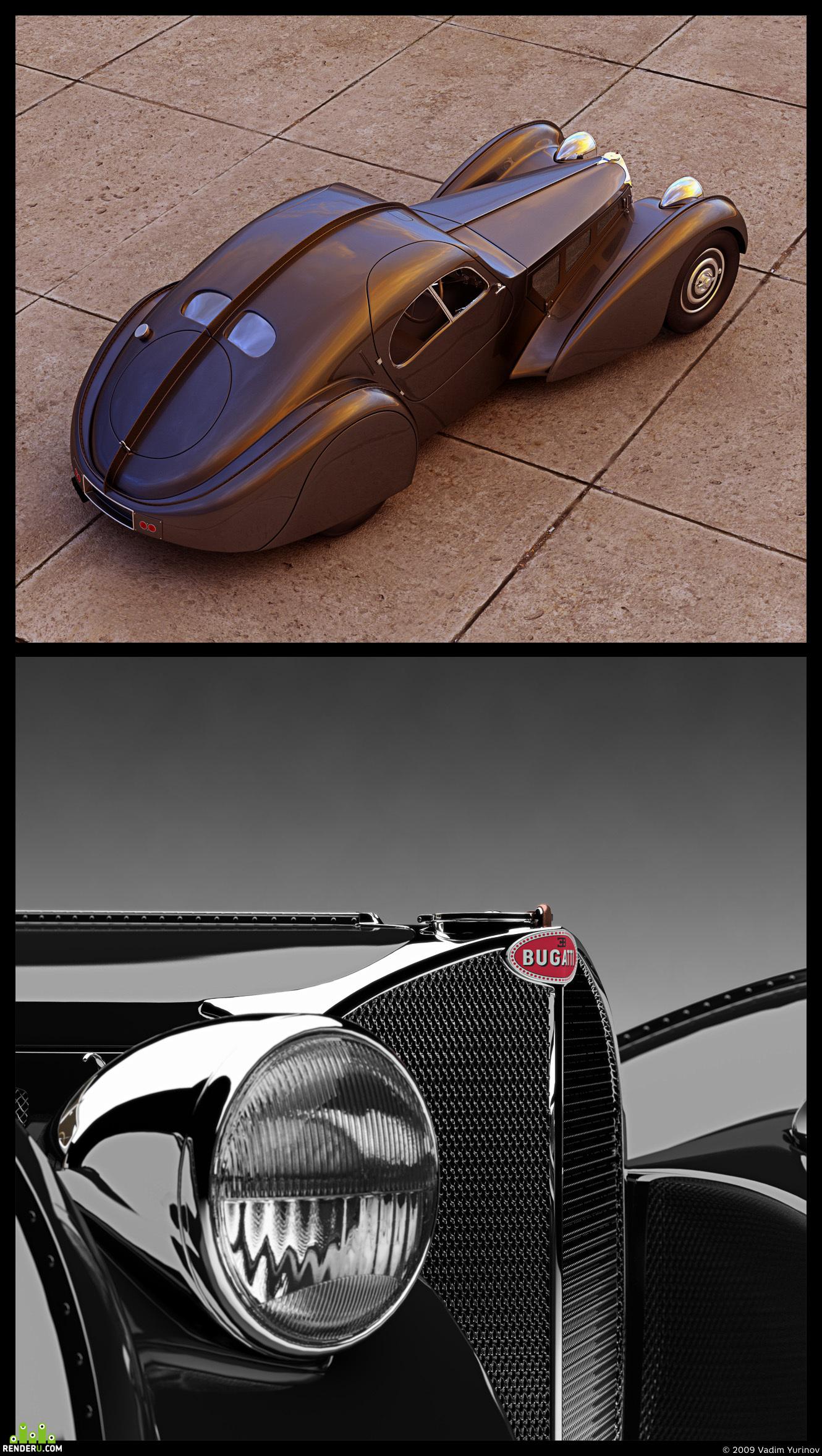 preview Bugatti Atlantic 57c