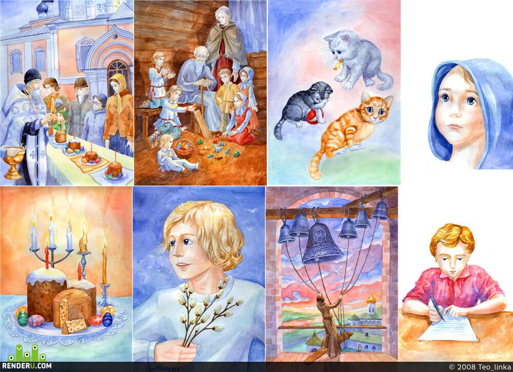 preview Иллюстрации на пасхальную тематику