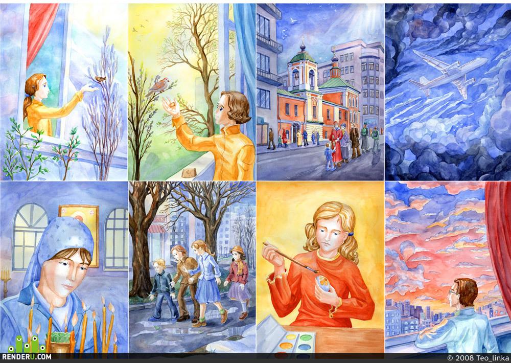 preview Детские иллюстрации ч.2
