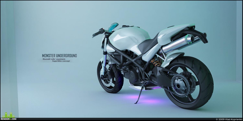 preview Ducati S4r Superbike Concept