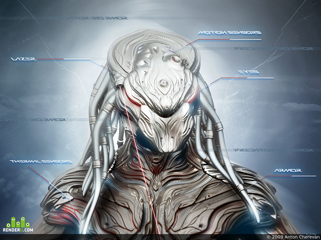 preview Human Bio Armor(Type:predator)