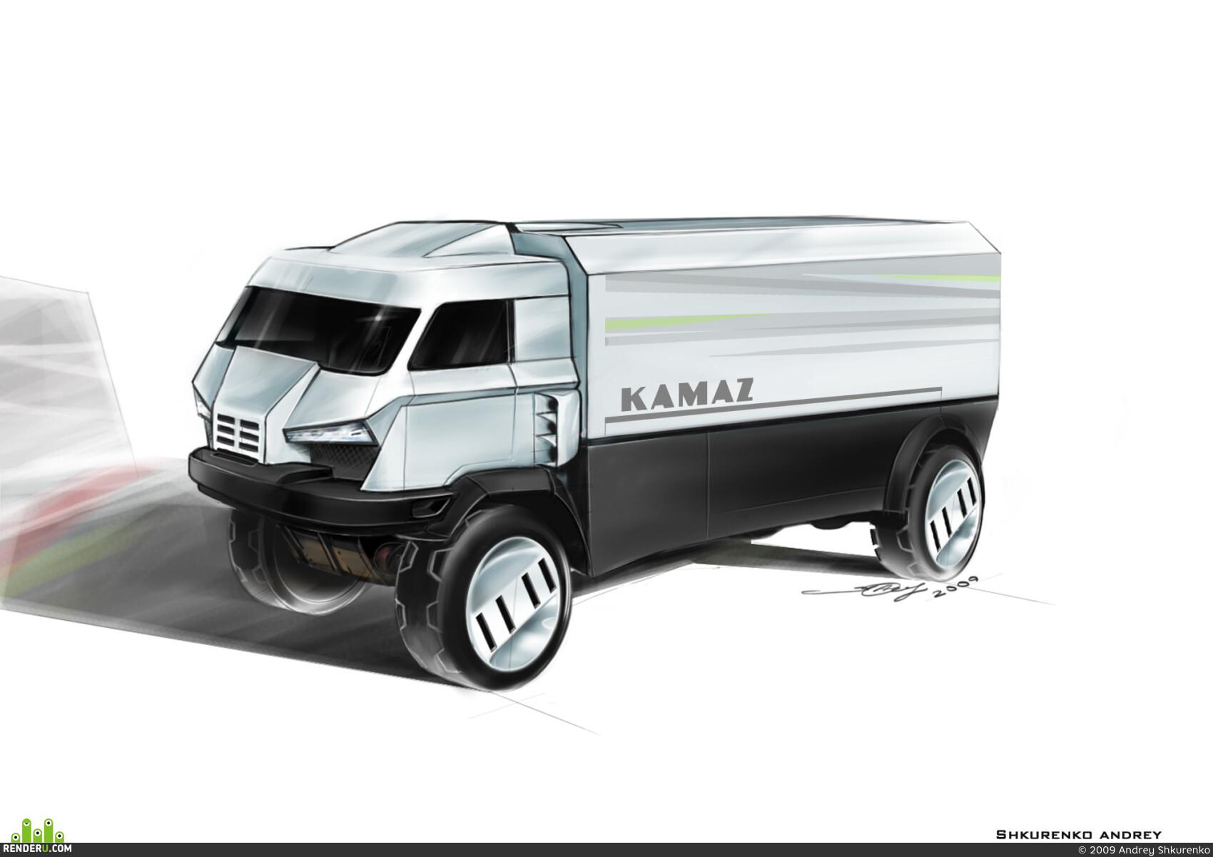 preview Kamaz Dakar 2022