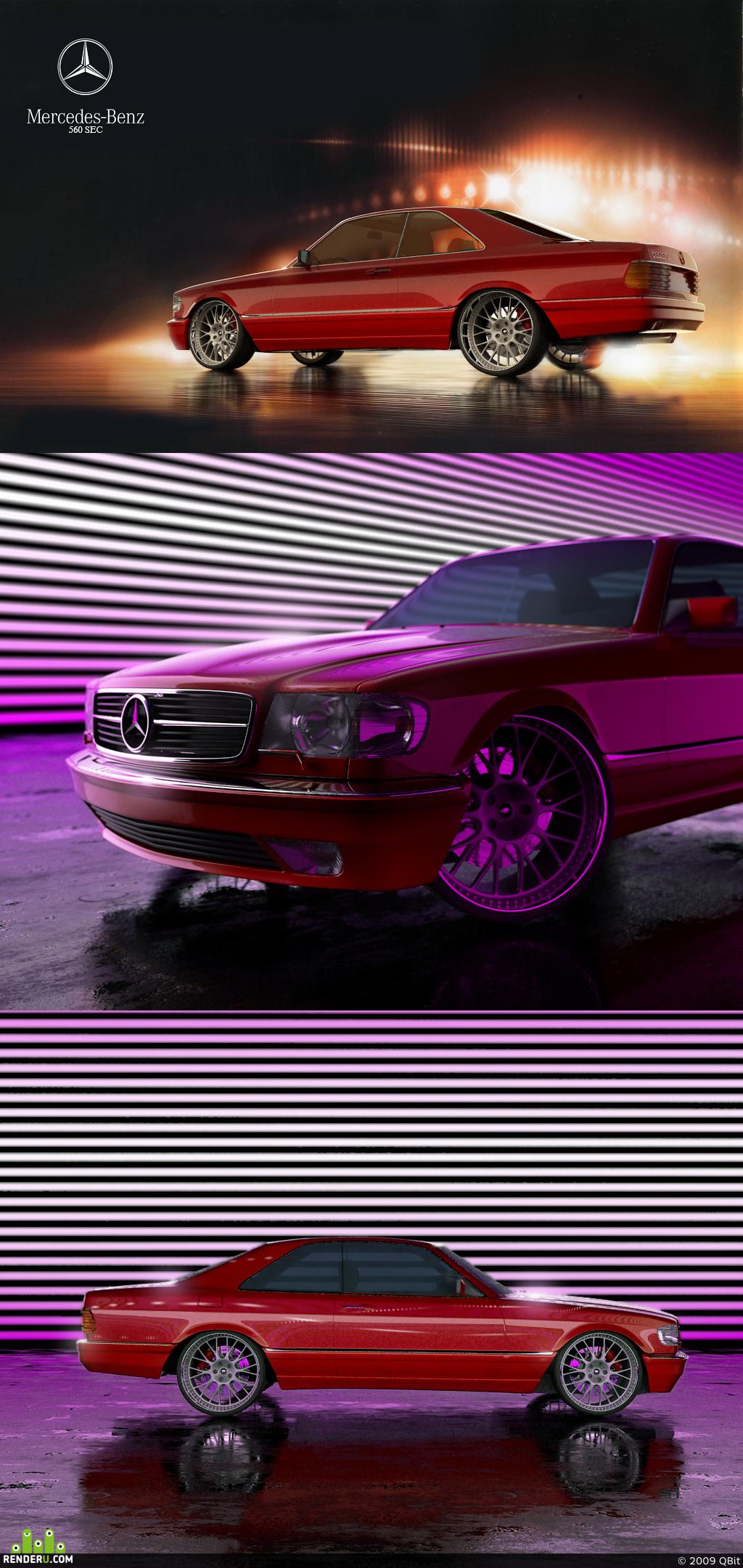 preview mercedes 560 sec
