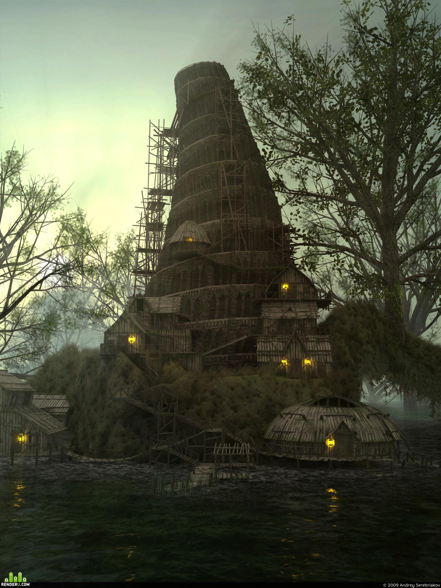 preview Деревянный вавилон