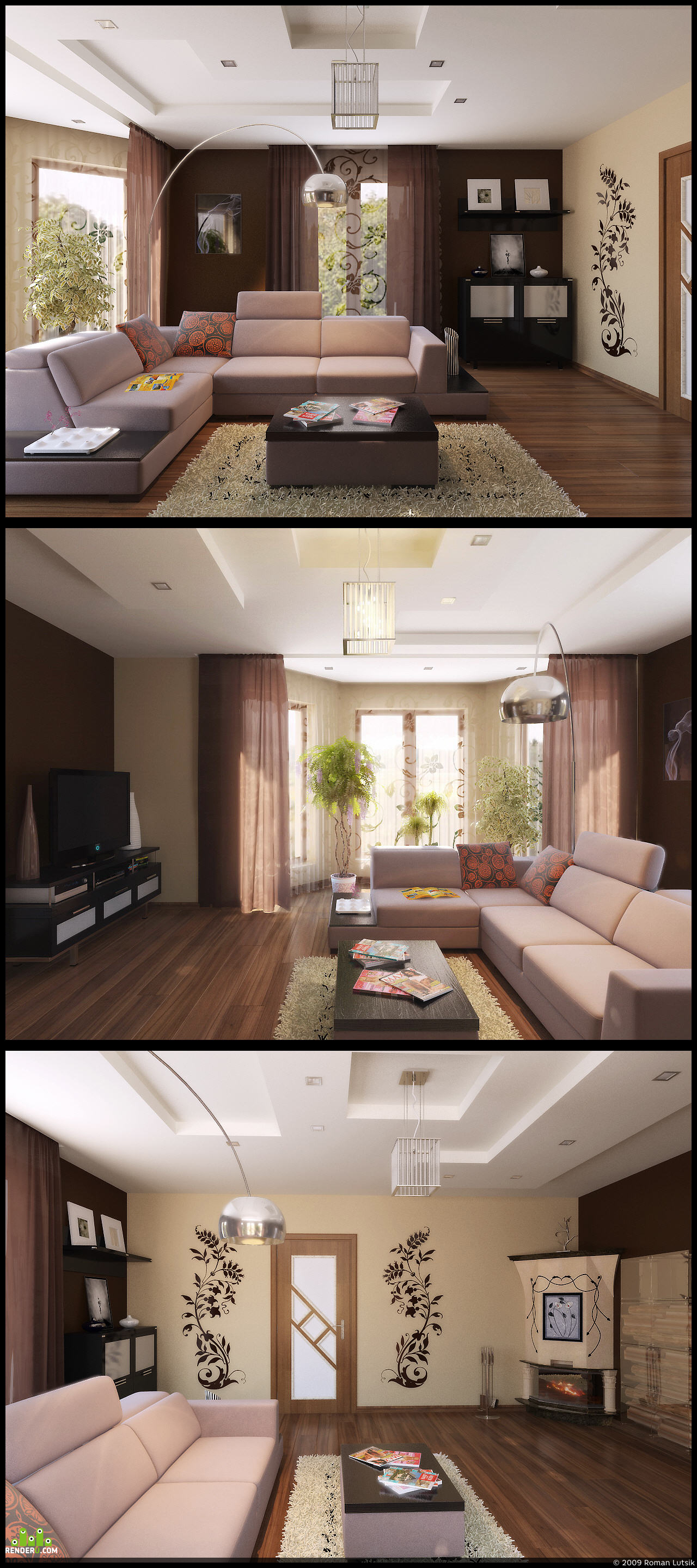 preview living room!