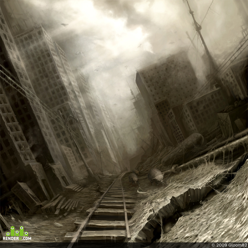 """preview """"City of decay"""""""