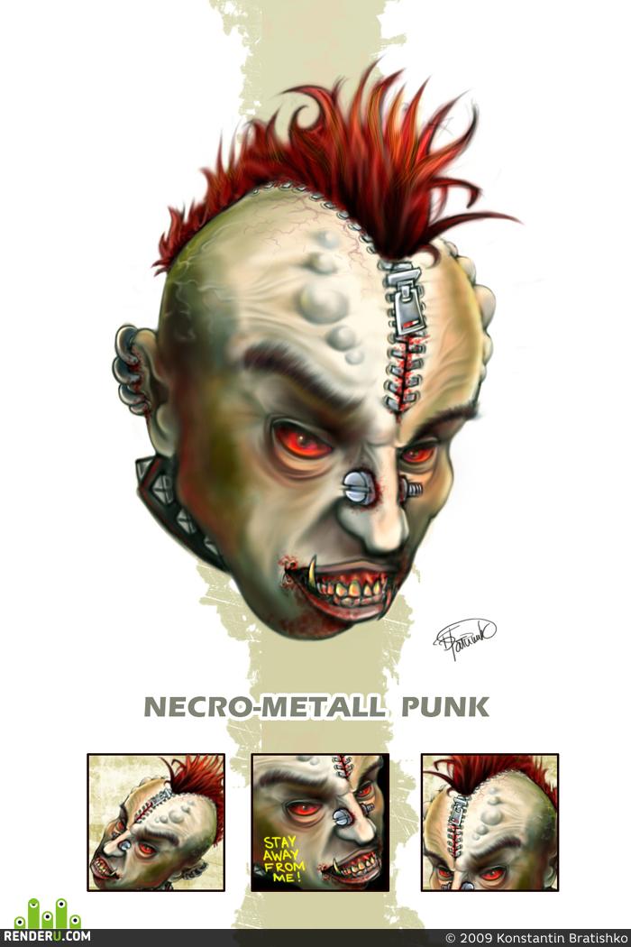 preview некро металлический панк