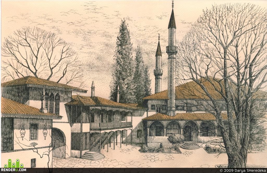 preview Ханский дворец в Бахчисарае