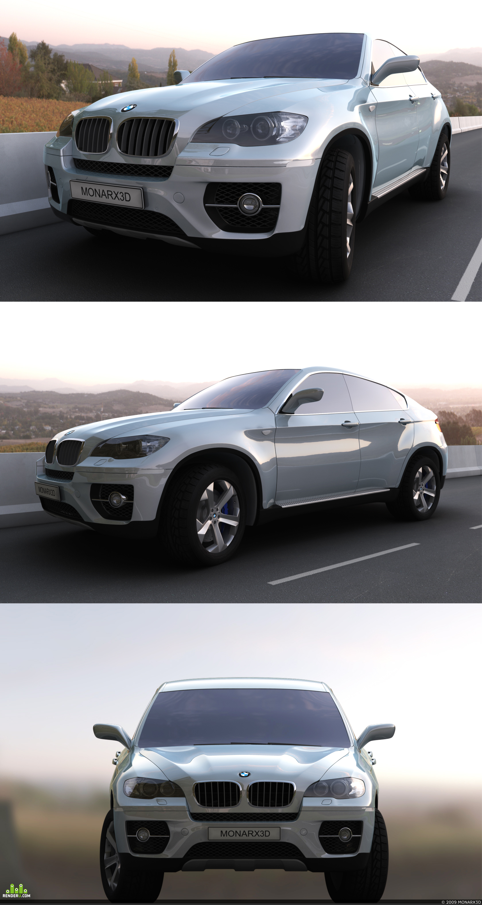 preview BMW X6 Concept Reworked.