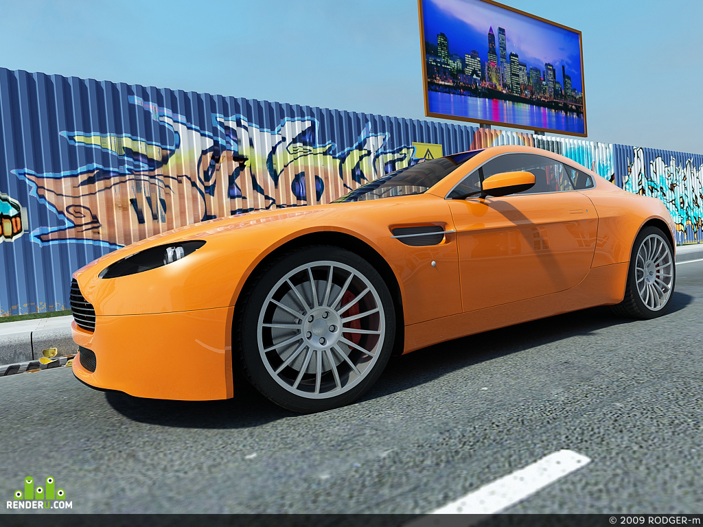 preview Aston Martin V8