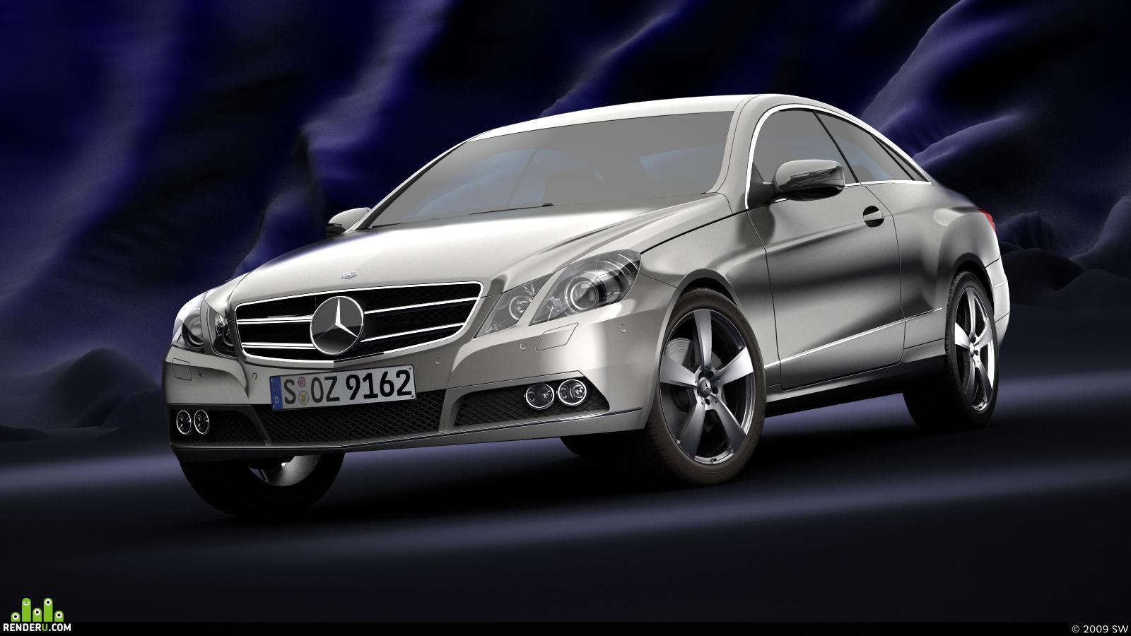 preview Mercedes-Benz E-Class Coupe