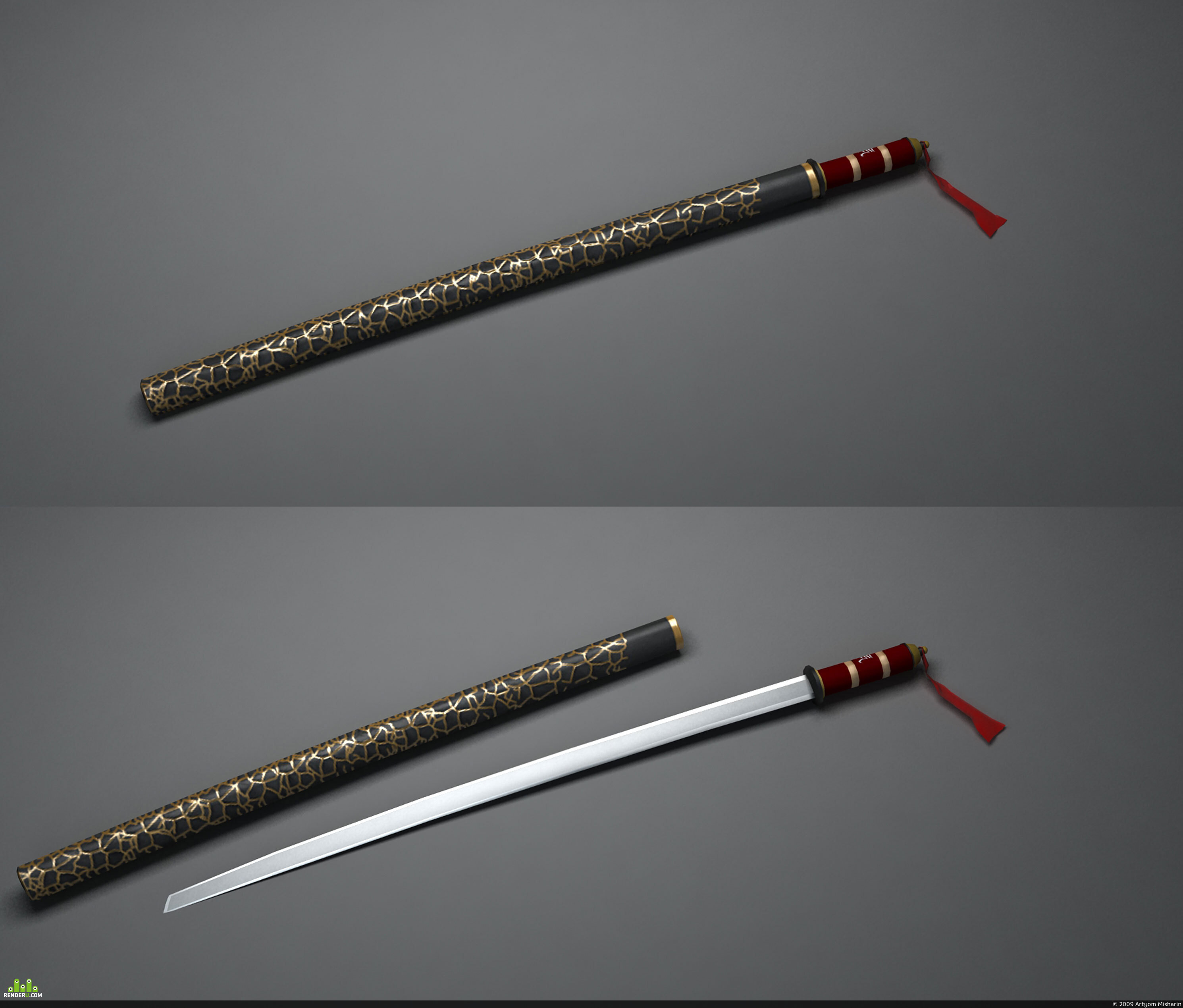 preview Меч самурая.