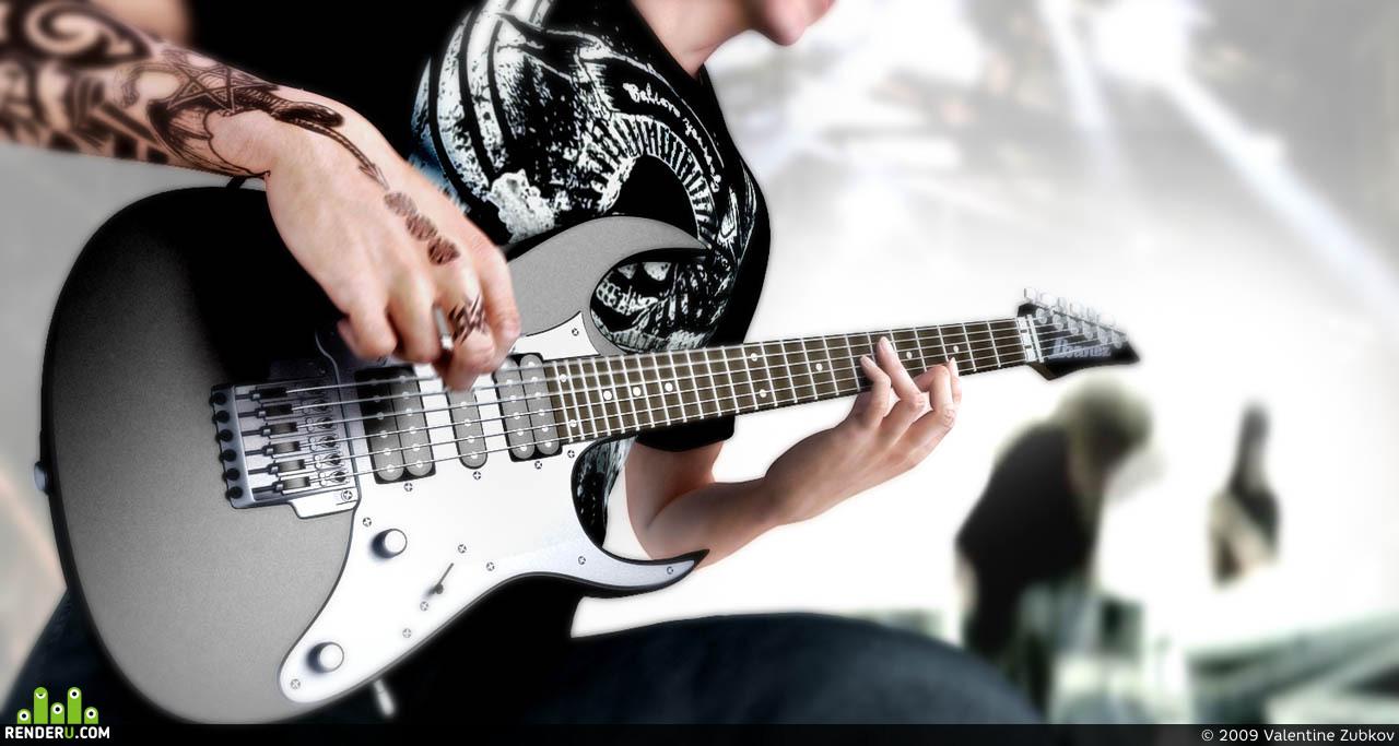 preview Гитарист