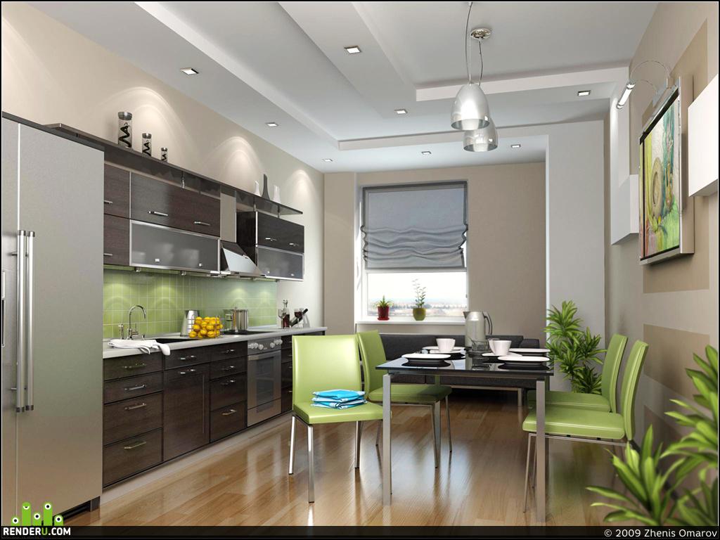 preview Кухня в небольшом офисе