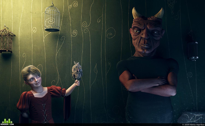 preview Ptitsa dlya demona