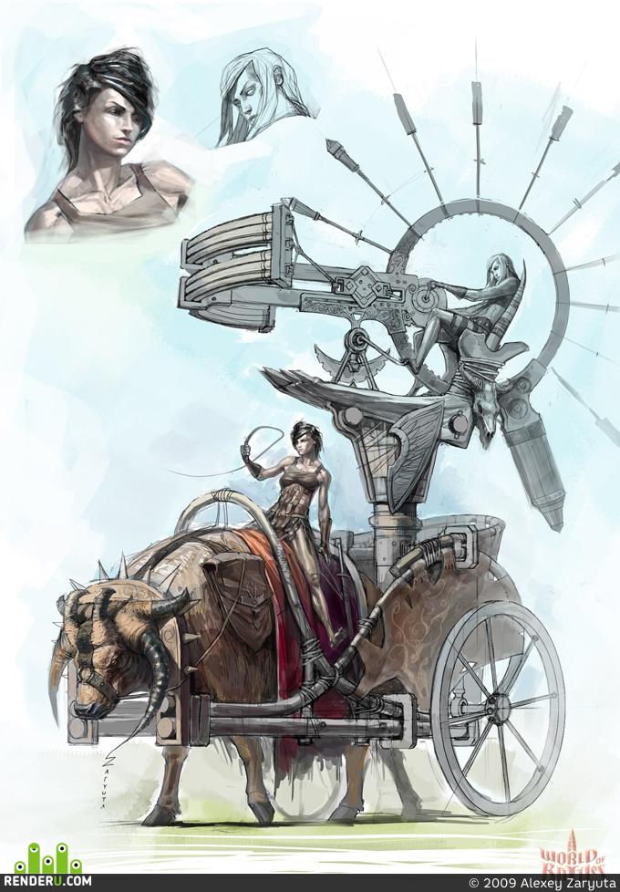 preview Боевая машина амазонок
