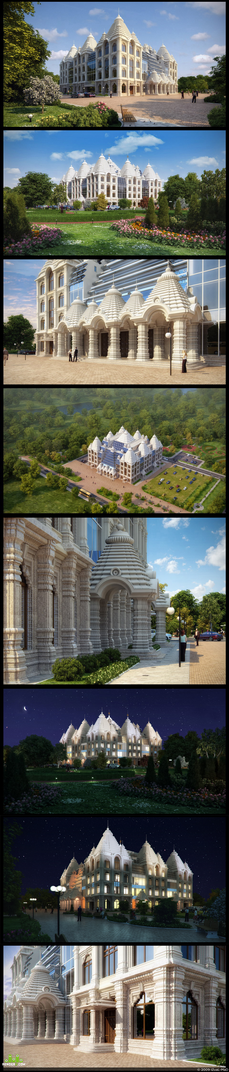 preview Proekt Vedicheskogo hrama v Moskve