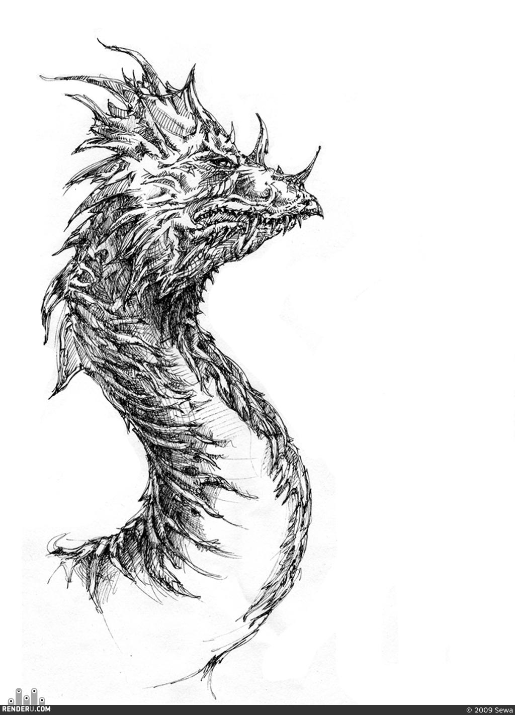 preview Дракончик
