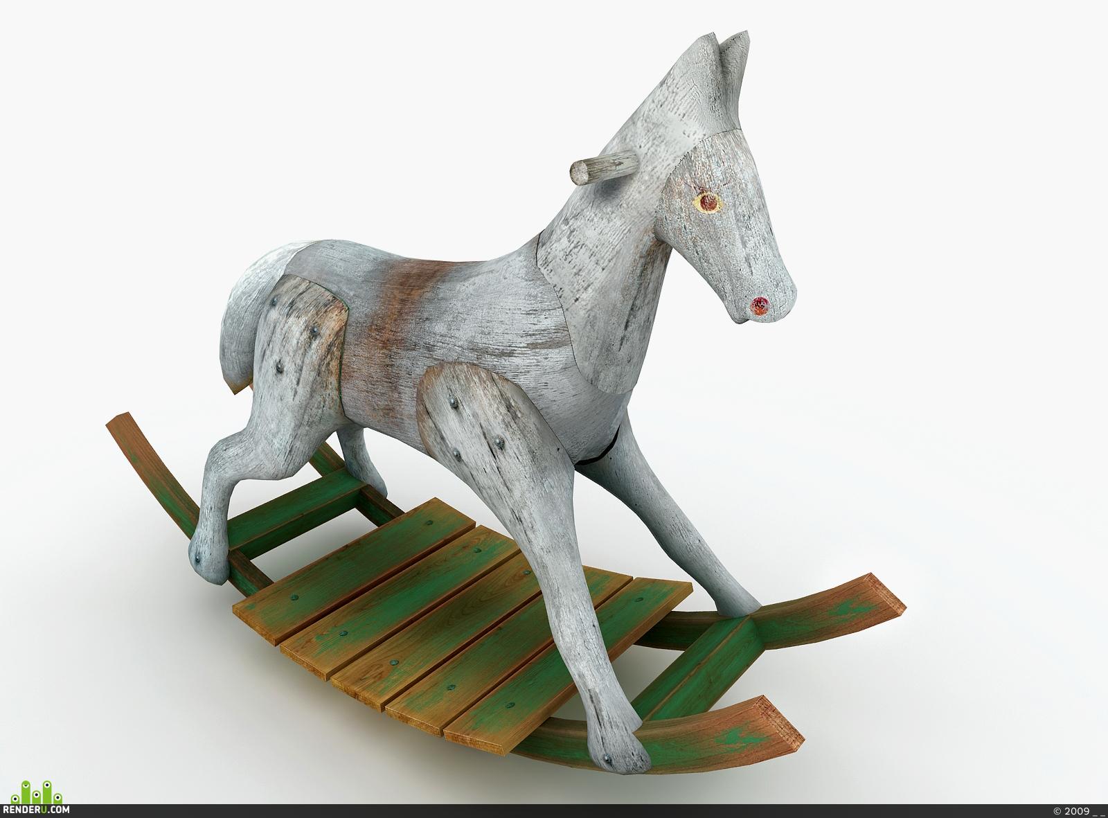 preview лошадка-качалка