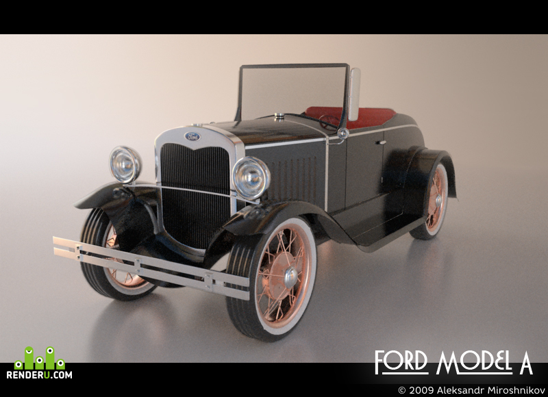 preview Ford Model A