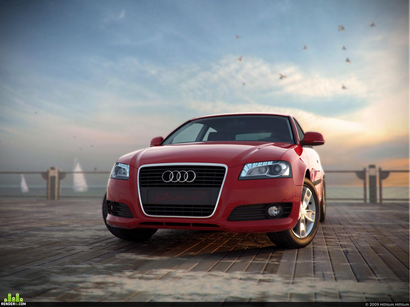 preview Audi A3 2009(V2)