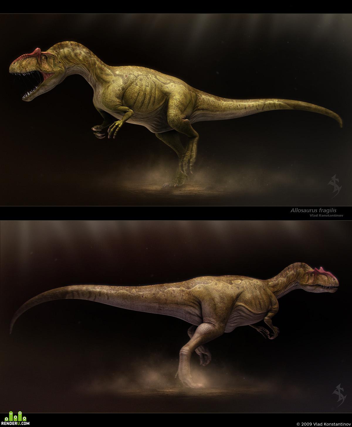 preview Allosaurus fragilis
