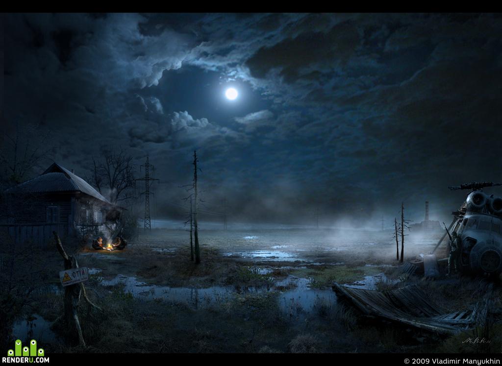 preview Дом на болоте /Луна