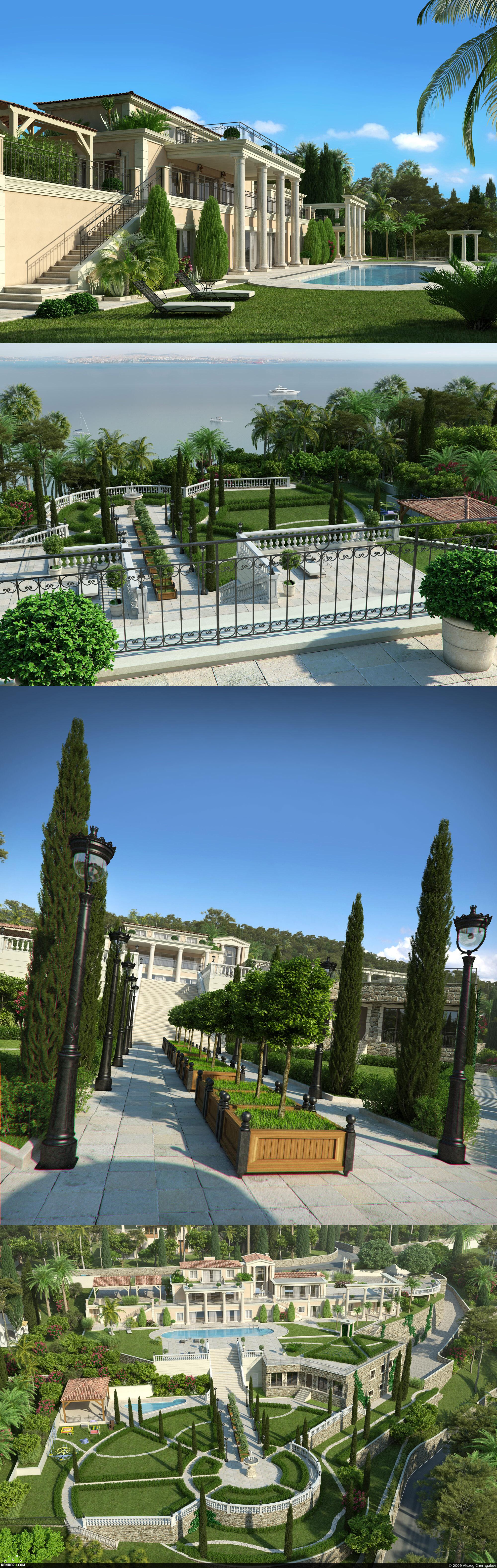 preview Вилла на побережье курортного города Канны (Франция)
