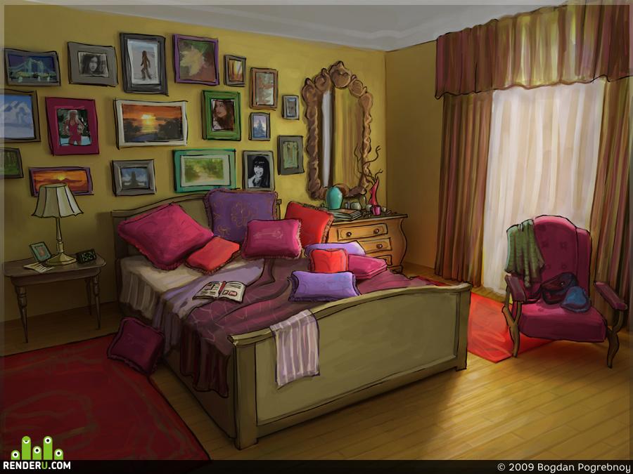 preview Mac's bedroom