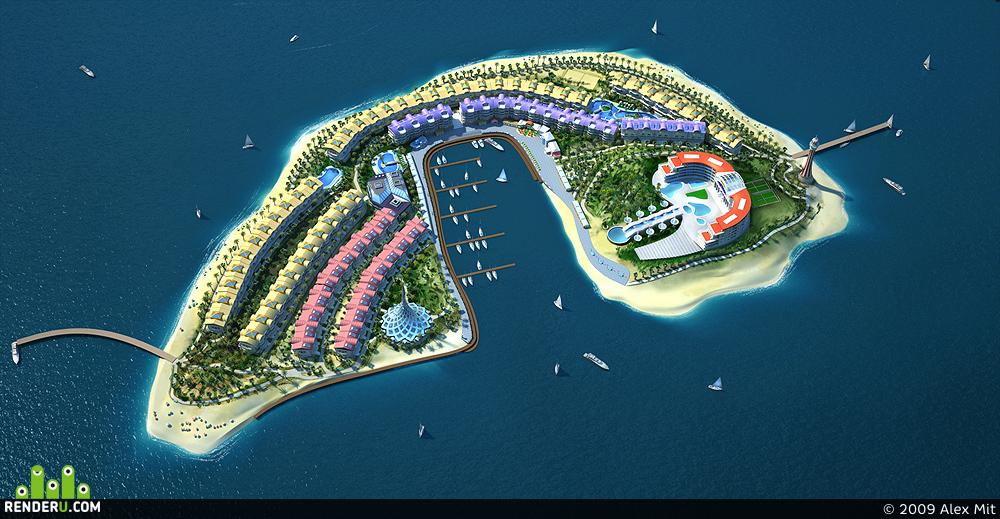 preview Bacu Dream Island