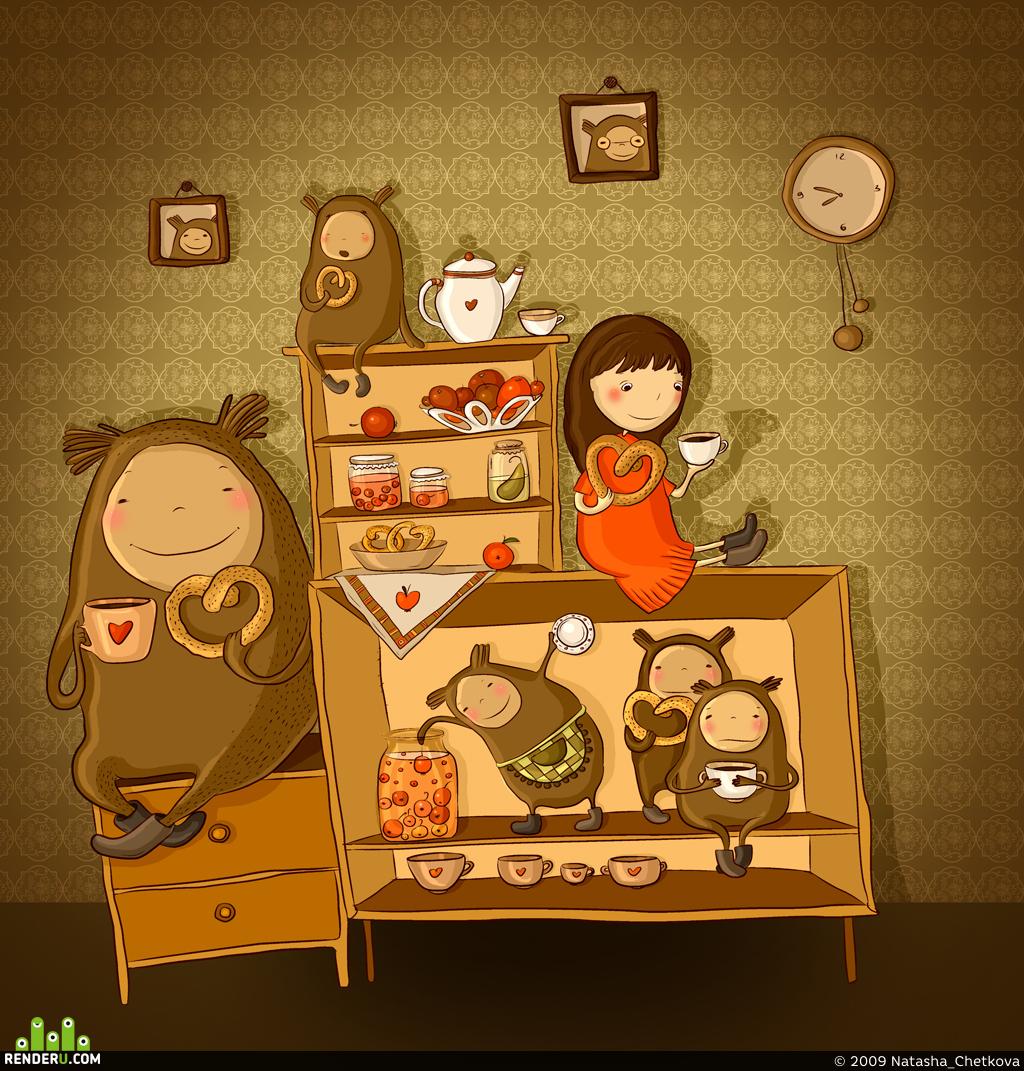 preview Ночное чаепитие.