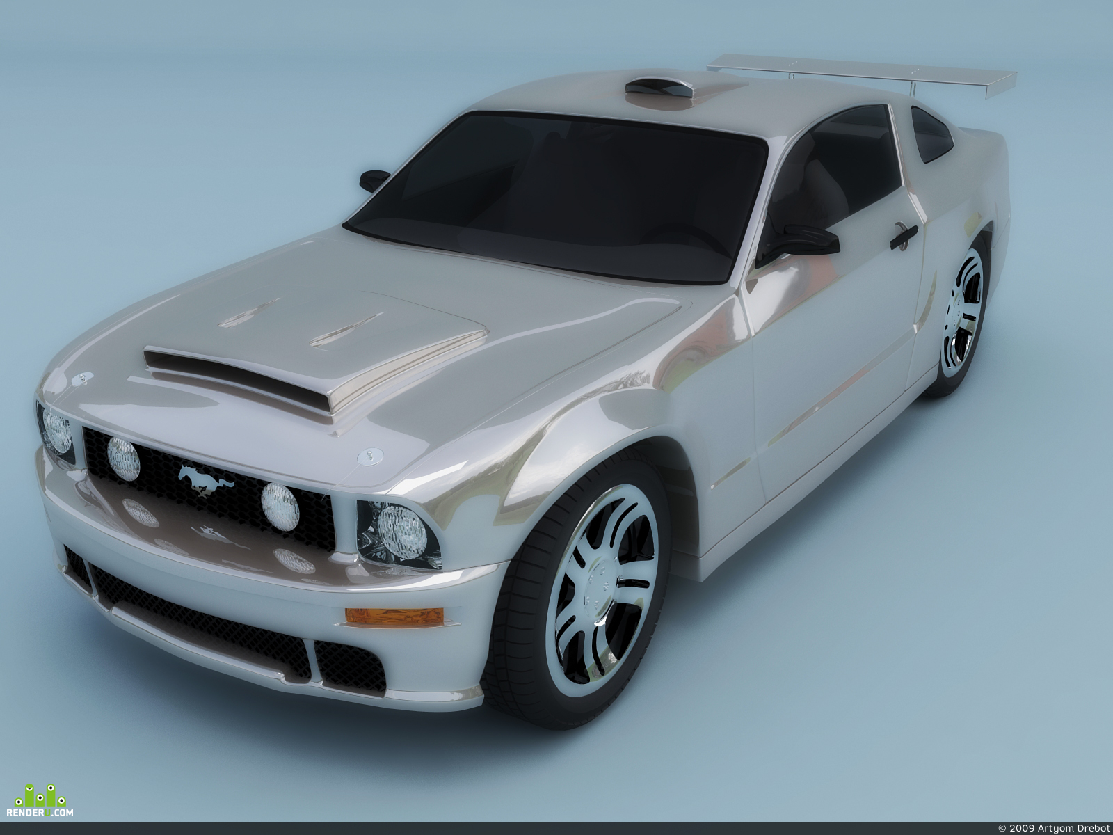 preview Ford Mustang GT