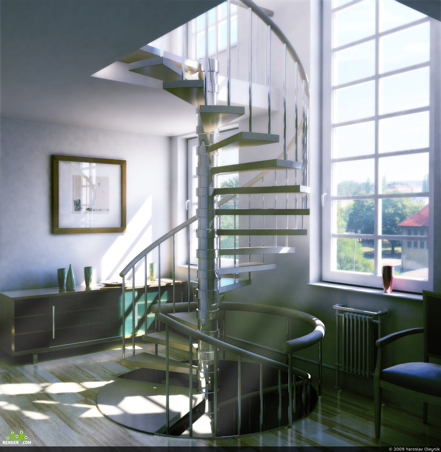 preview Spiral Staircase