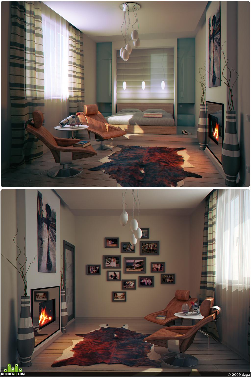 preview гостевая спальня