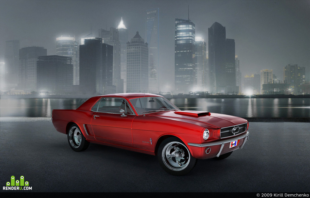 preview Ford mustang 1966