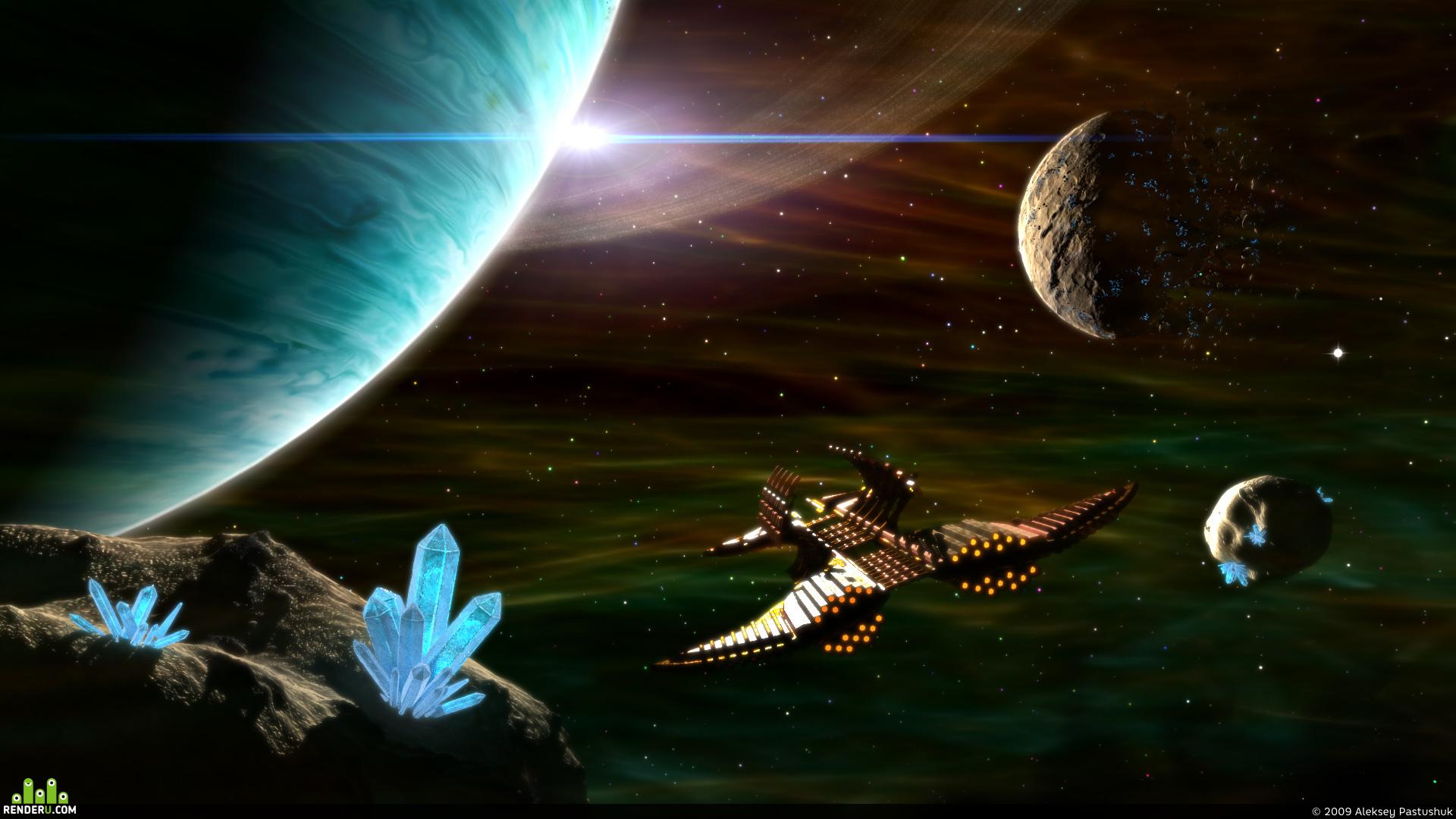 preview Полет за кристаллами Тиррадиума...