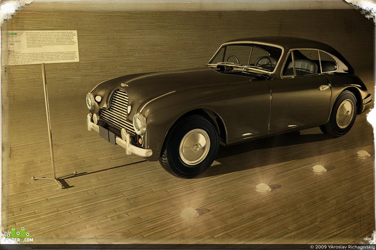preview Aston Martin db2 -  old times
