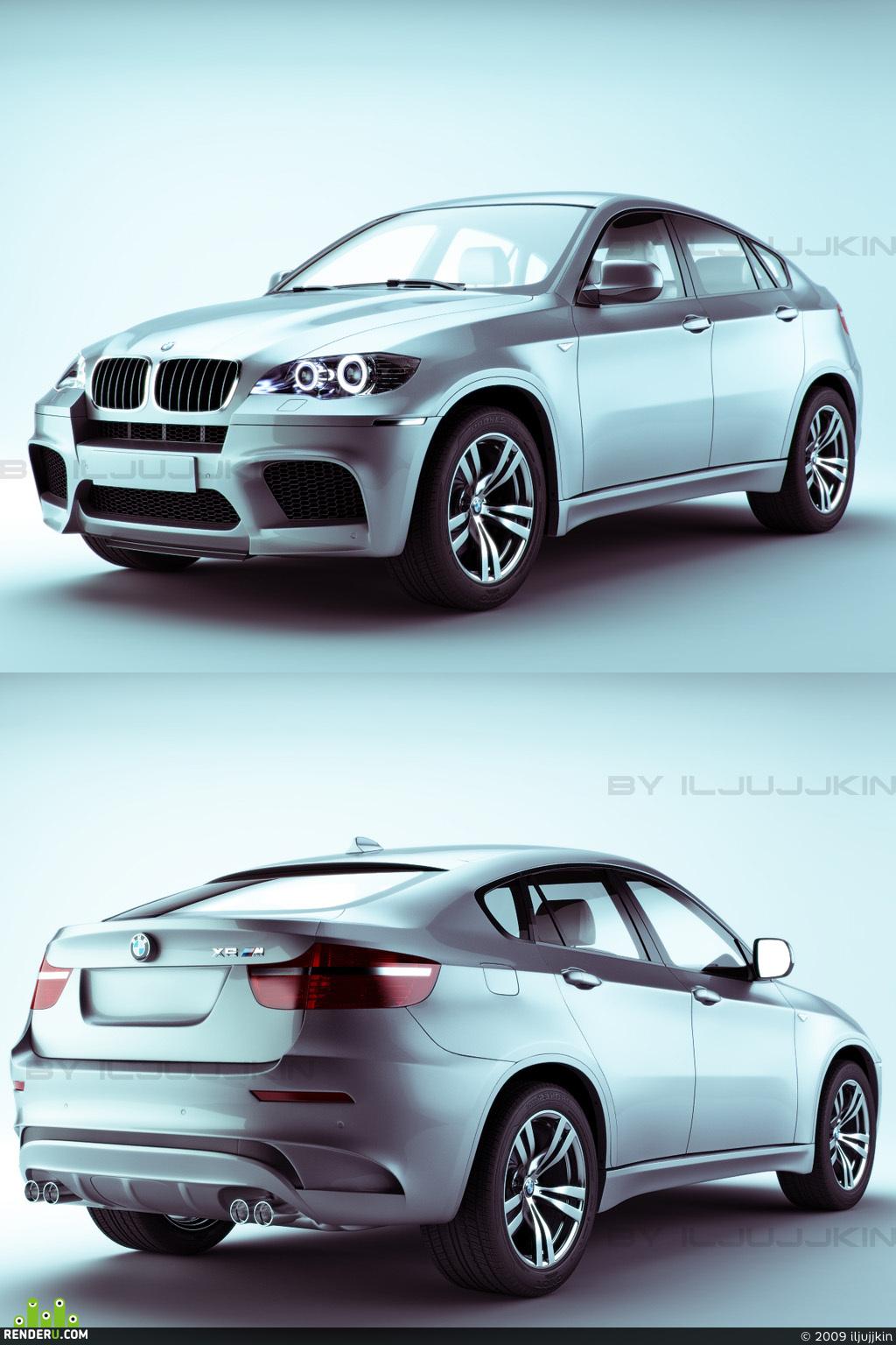 preview BMW X6M (снова)