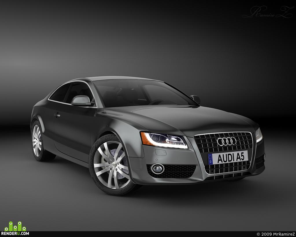 preview Audi A5 Studio