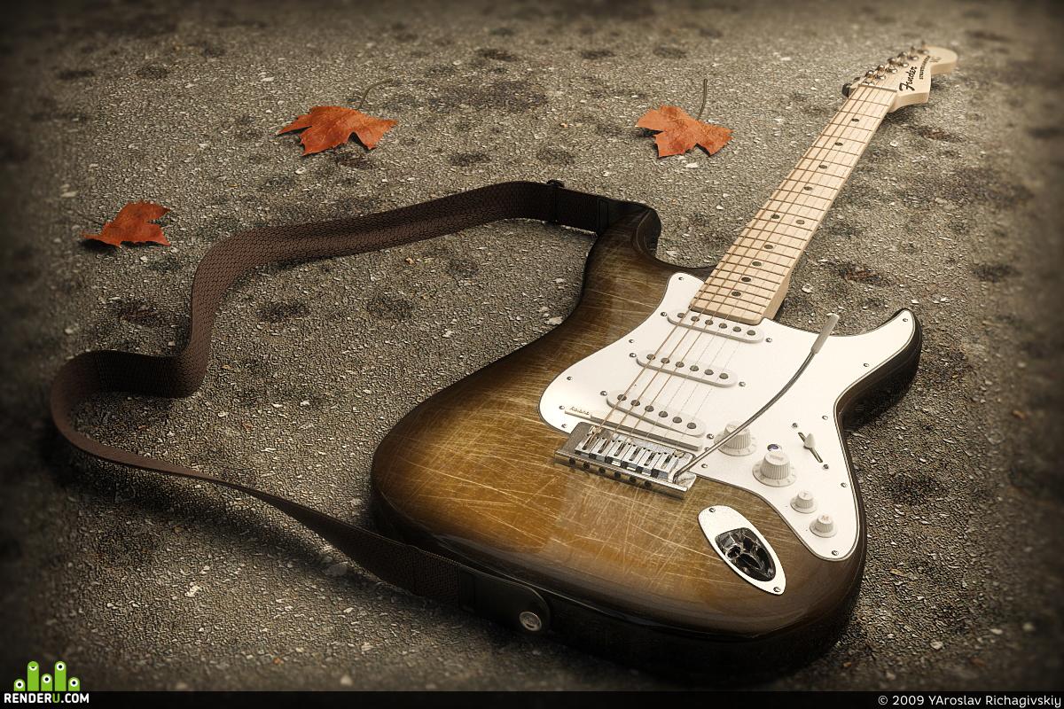 preview Fender Stratocaster VG - Autumn steps...
