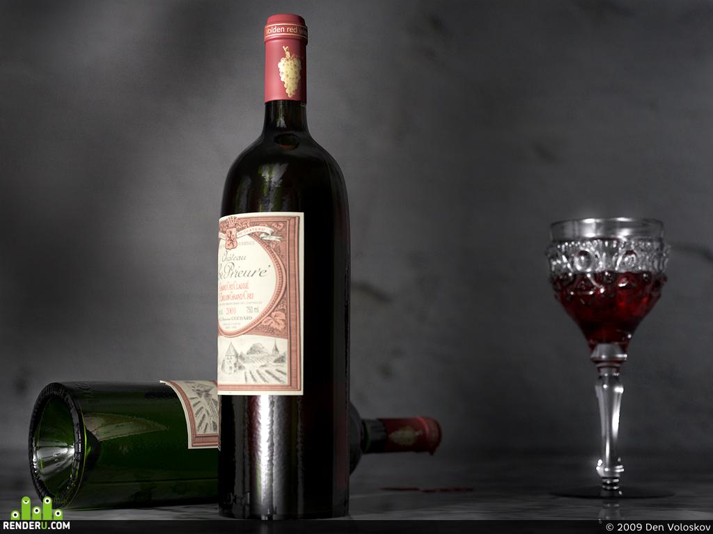 preview натюрморт с вином