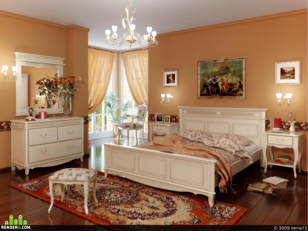 preview Спальня