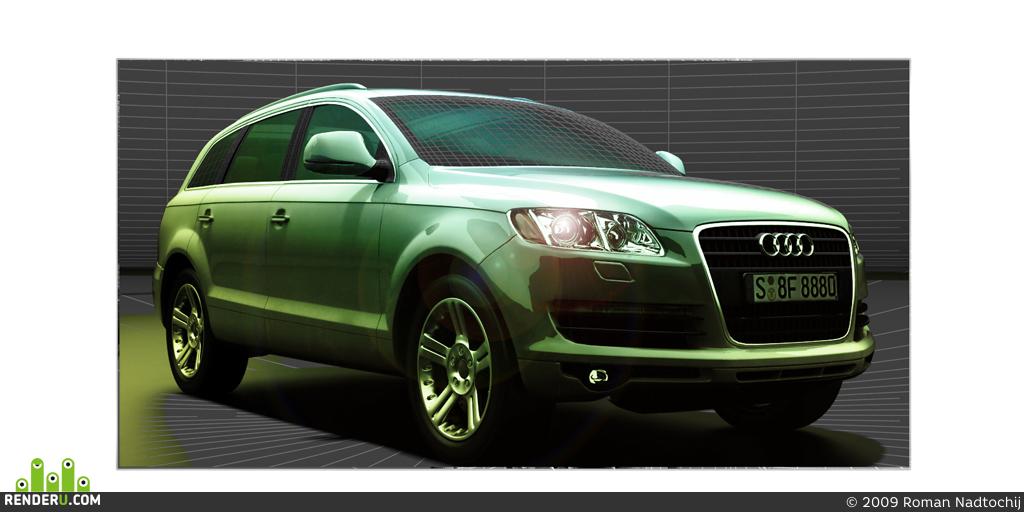 preview Audi Q7 vehicle