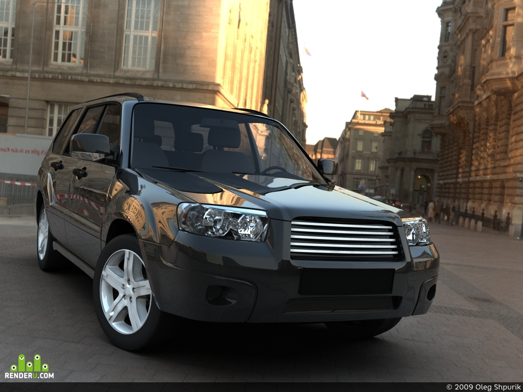 preview Forester 2006