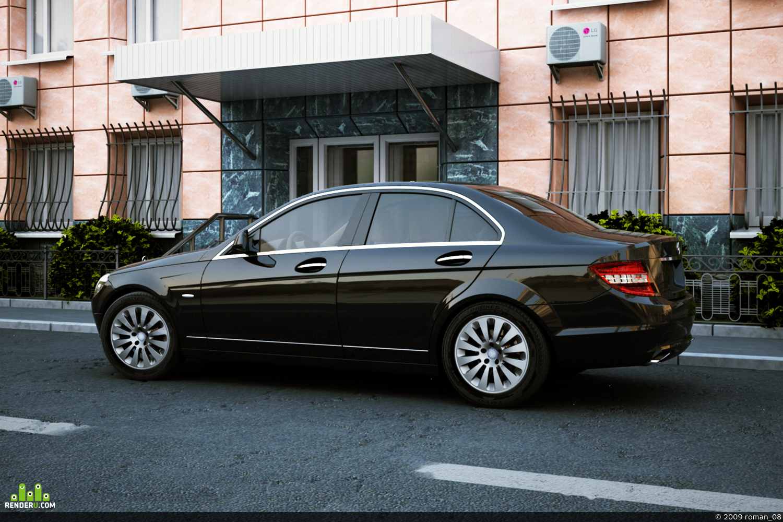 preview Mercedes C-Klass W204